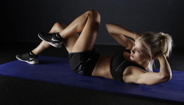 Active adult athlete body 416778