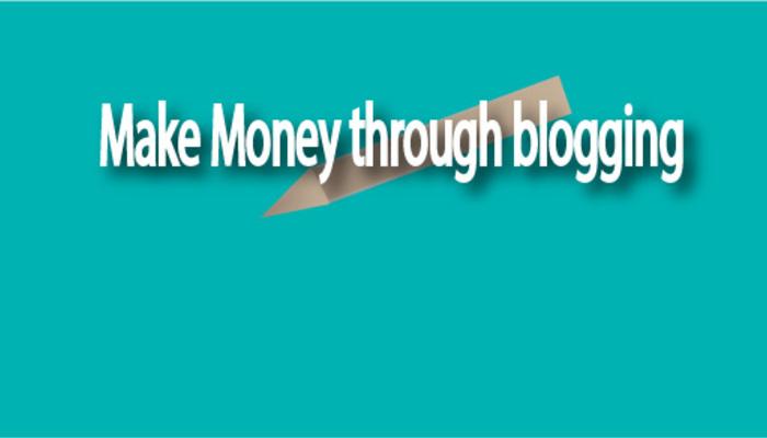 Generate revenue by blogging