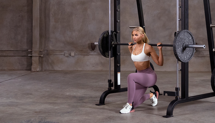 Smith machines home gyms pack power into good designs