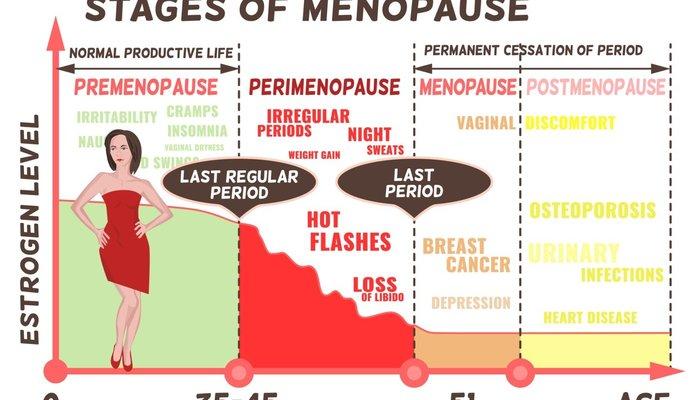 Stage of menopause