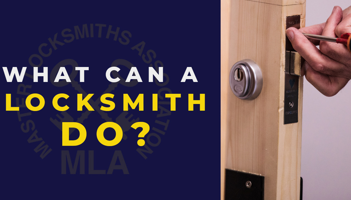 What can a locksmith do social